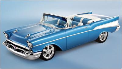 Cars, Inc. steel 1957 Chevy