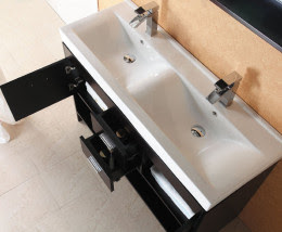 trough sink modern vanity
