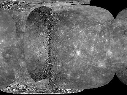 Global Map of Mercury