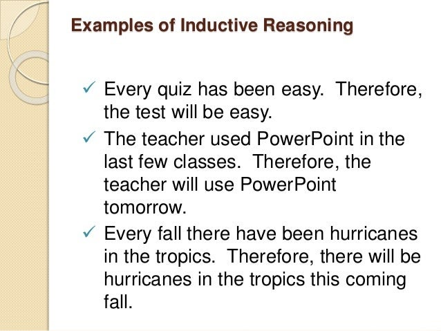 inductive reasoning examples