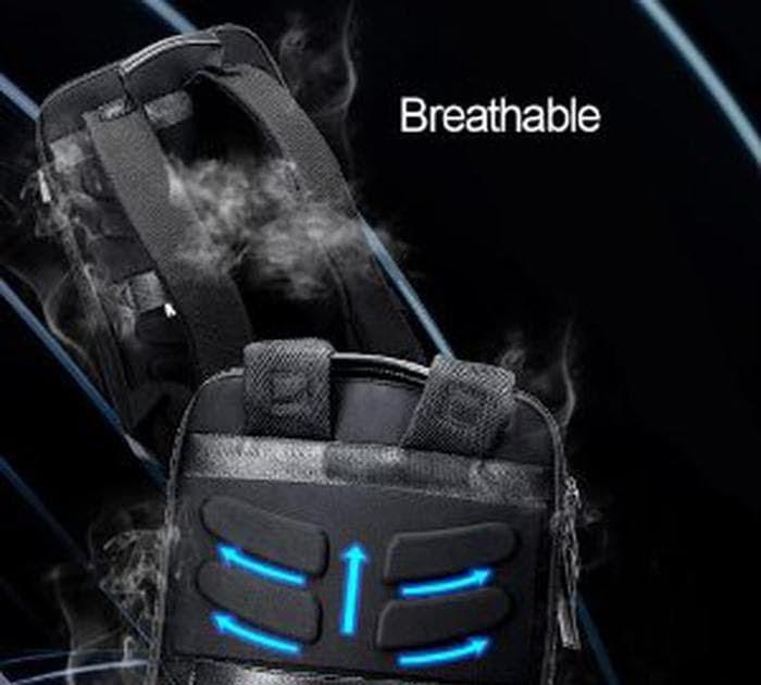 228a4ca0b3 BELI Tas Ransel Backpack Laptop Multifungsi Waterproof Anti Maling Coded