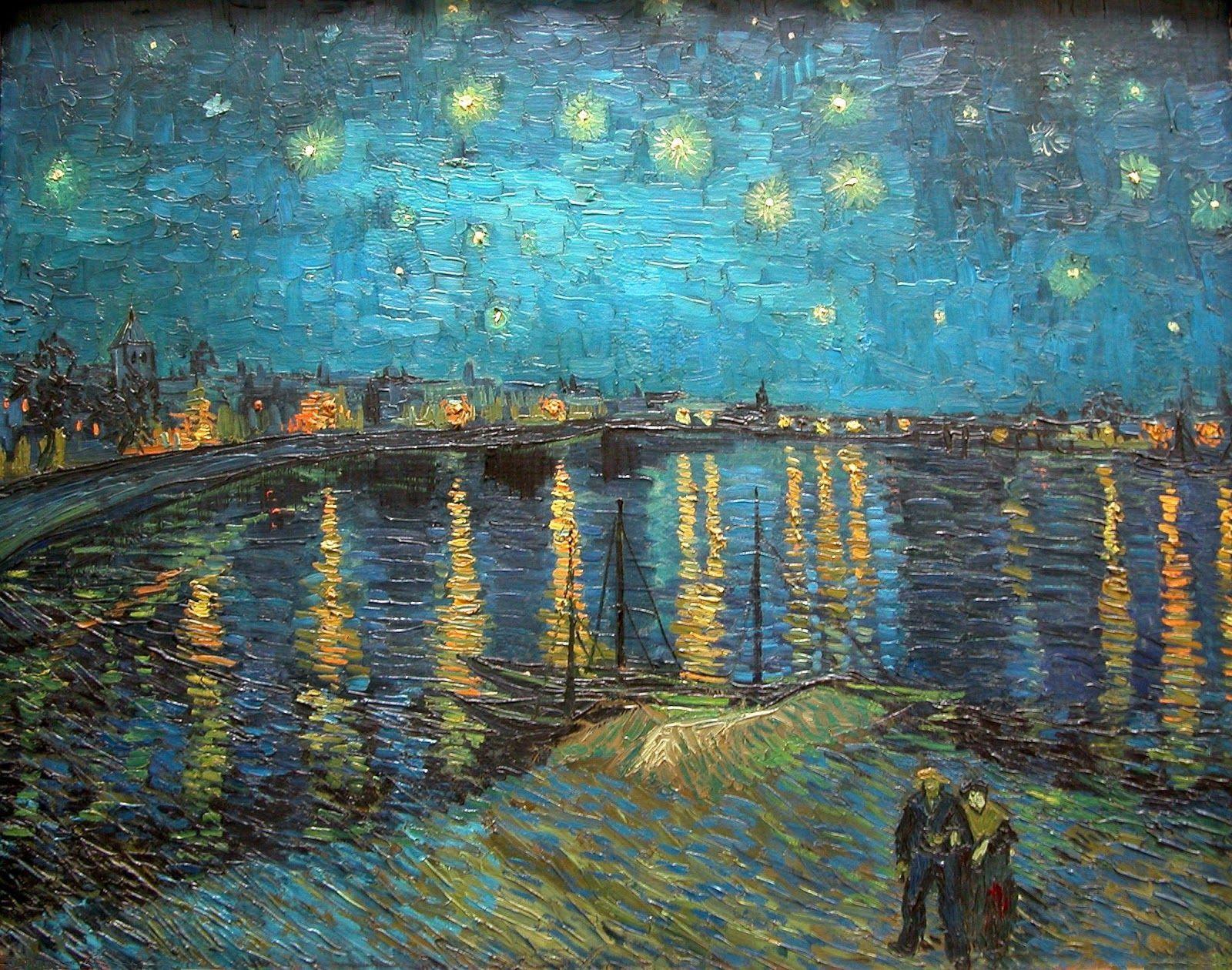 Vincent Van Gogh Starry Night Wallpaper Sf Wallpaper