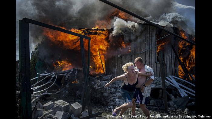 World Press Photo Awards 2017 - Long-Term Projects - First Prize - Valery Melnikov, Rossiya Segodnya - Black Days Of Ukraine (Reuters/World Press Photo Foundation/Rossiya Segodnya/V. Melnikov)