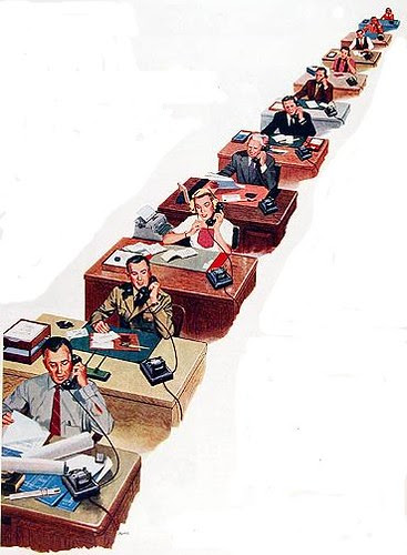 oficina ausente