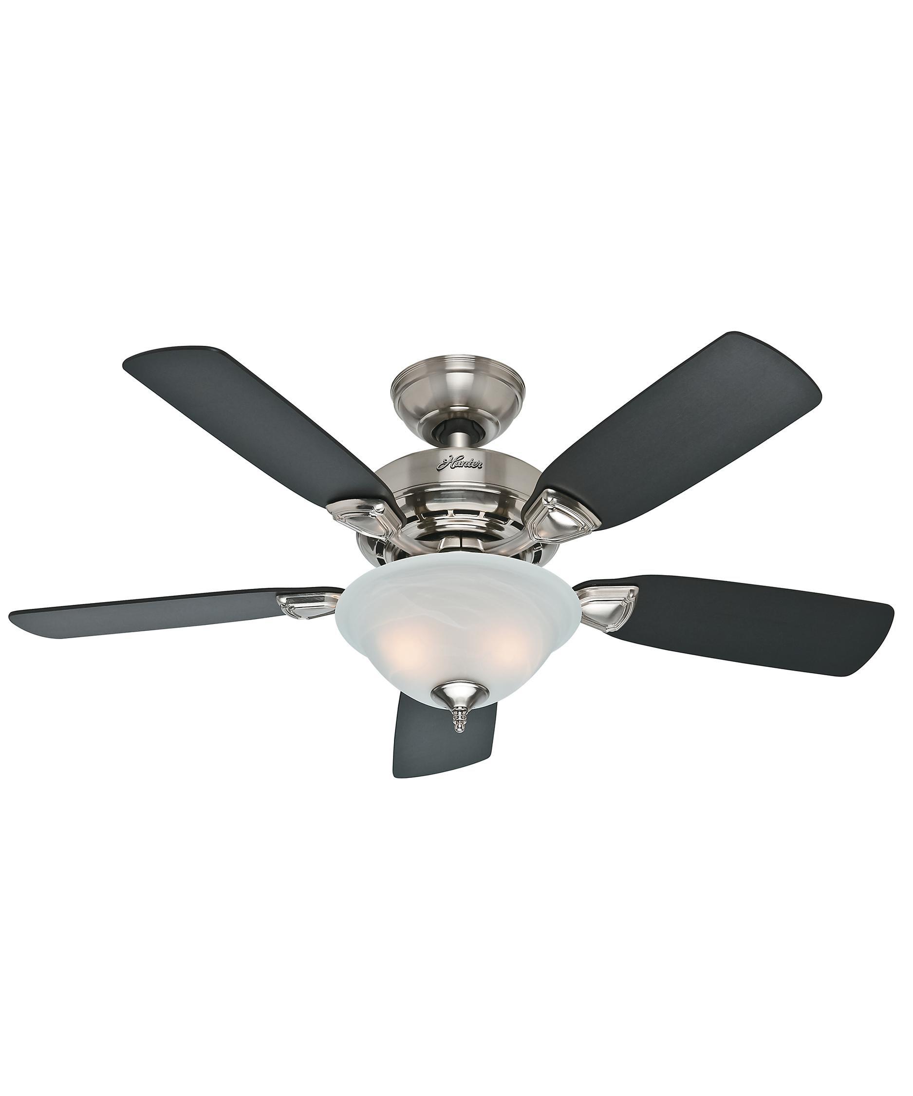 Hunter Fan 52081 Caraway 44 Inch Ceiling Fan With Light ...