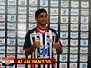 Alan Santos, ex-capitão do sub 18 do Santos, é a aposta para o meio de campo do Paulista
