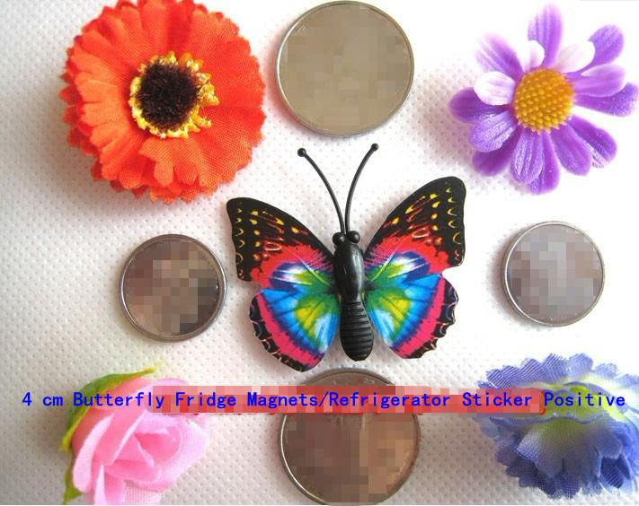 Wholesale Magnetic Home DECOR , Simulation of butterfly fridge ...