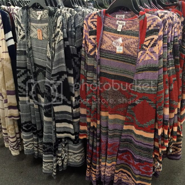 Mudd Aztec hooded Cardigans