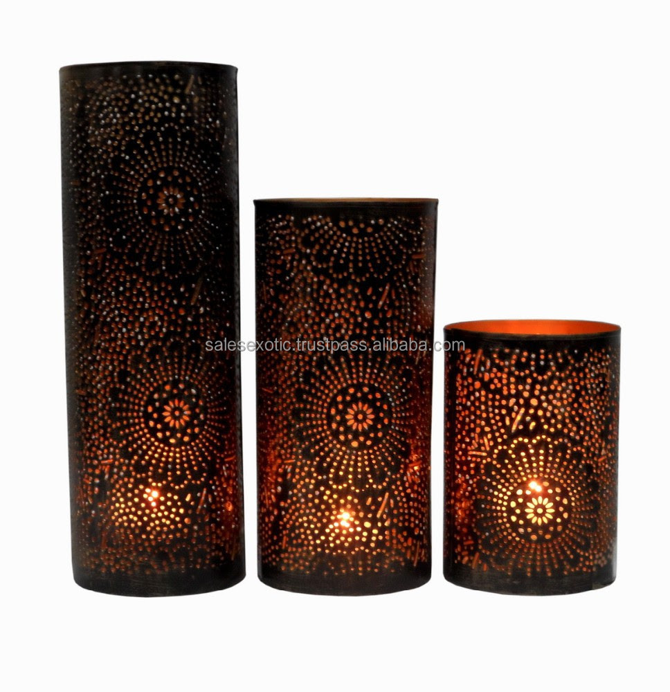 Moroccan Candle Votive Holder - Buy Moroccan Candle Holder ...