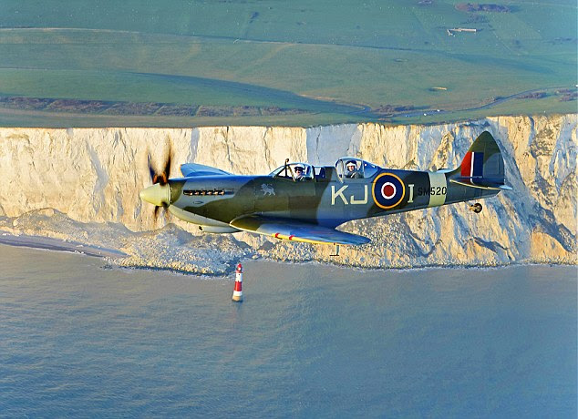 Expensive hobby: It cost Mrs Grace about £5,000 an hour to fly her Spitfire, and as she flies it it 70 hours a year, she needs to 'free up funds' (stock image)