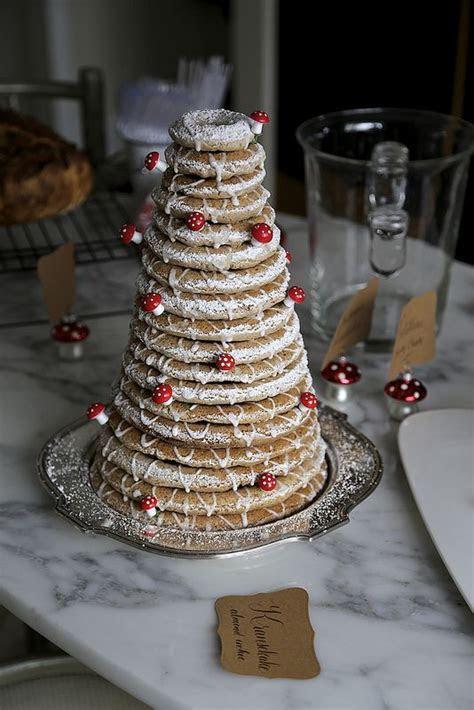 Kransekake Swedish wedding cake   Wedding   Pinterest
