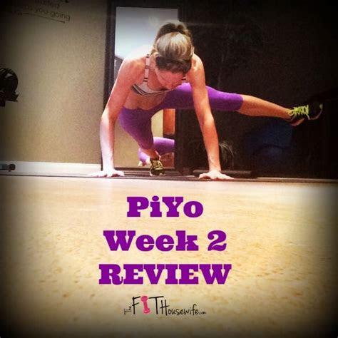 piyo week  review  permanent health kick healthy