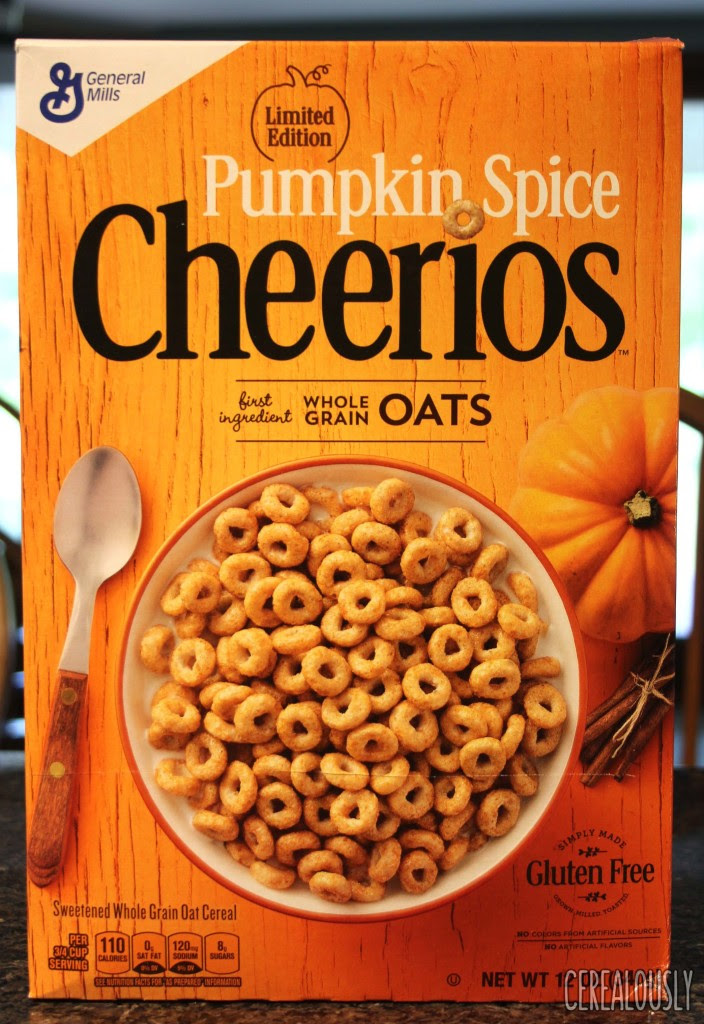 Review: General Mills Limited Edition Pumpkin Spice Cheerios
