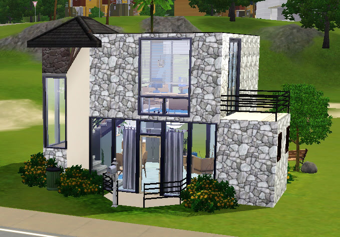 Mod The Sims - Small Modern House