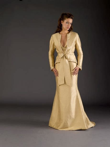 gold mother   groom dresses