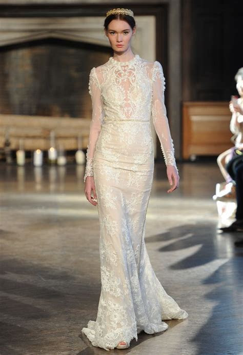30 Exquisite & Elegant Long Sleeved Wedding Dresses : Chic