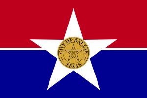 Flag of Dallas, Texas