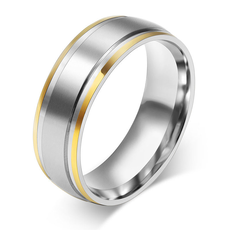Aliexpress com Buy 18K gold plated rings 316L Stainless