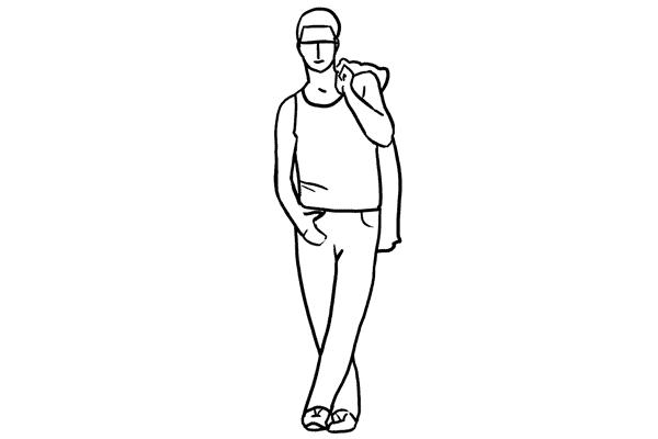 Позирование: позы для мужского портрета 5
