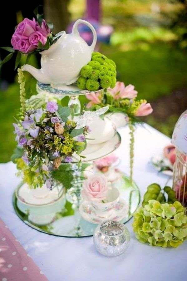 A Mad Hatters Themed Tea Party Memorable Indian Weddings