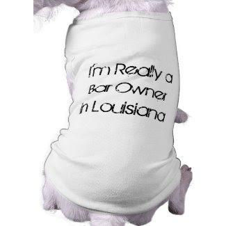 Sam Bar Owner Dog Shirt petshirt