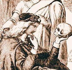 """""""Ser ou não ser, eis a questão"""", diálogo da obra de Shaskeaspeare em que Hamlet reflete sobre o sentido da vida e o efeito perverso da morte (Foto: Divulgação)"""
