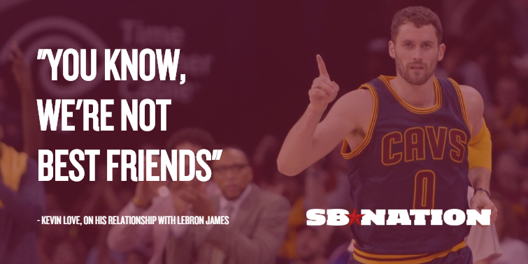 Choose Your Own Adventure Kevin Love Quotes About The Cavs Edition