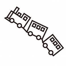 銀河鉄道999シルエット イラストの無料ダウンロードサイトシルエットac