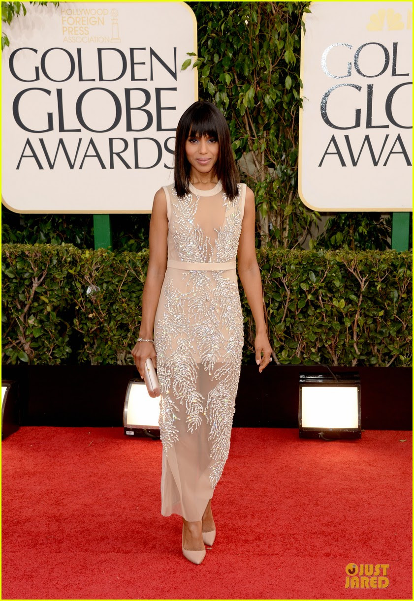 leonardo dicaprio kerry washington golden globes 2013 red carpet 03