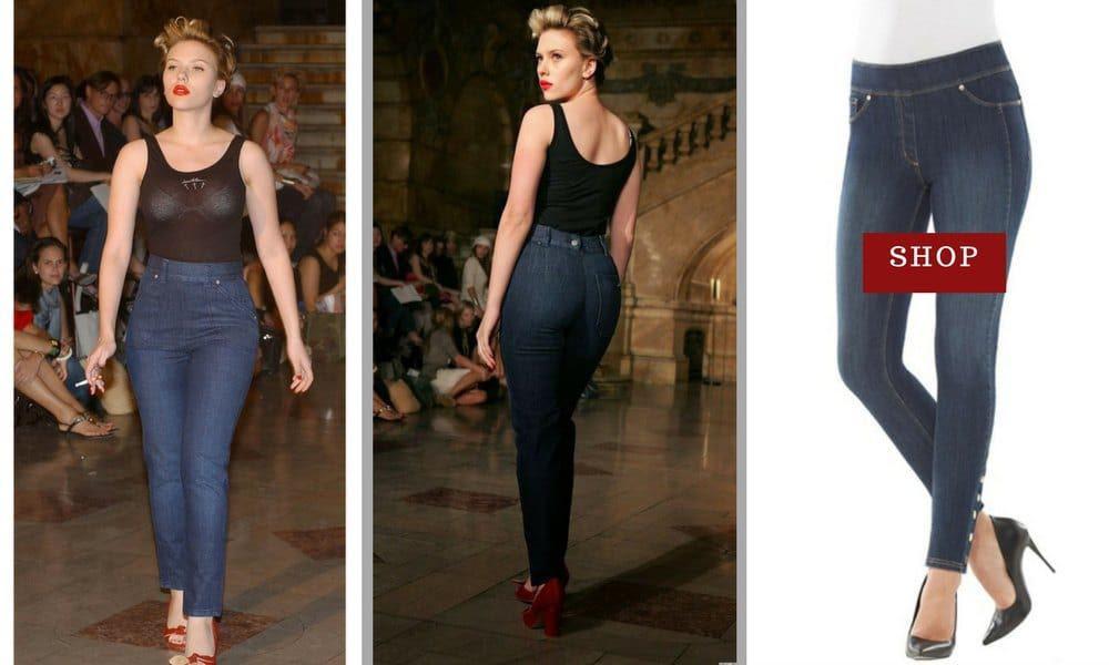 High waisted jeans for hourglass figure pole