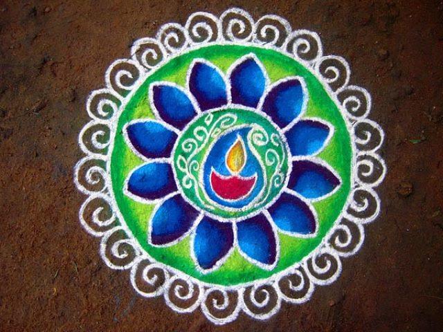 15 Easy Rangoli Designs For Diwali New Love Times
