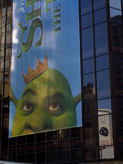 Shrek on MSG