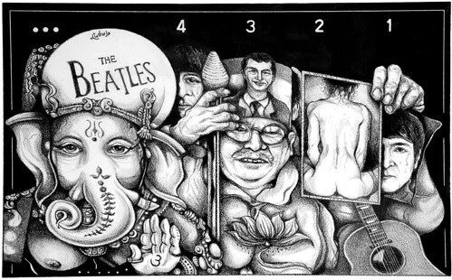 Jeter Beatles by trudeau