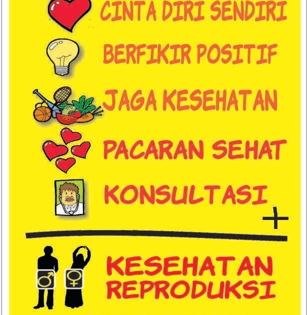 Contoh Poster Kesehatan Reproduksi Remaja Hidup Sehat