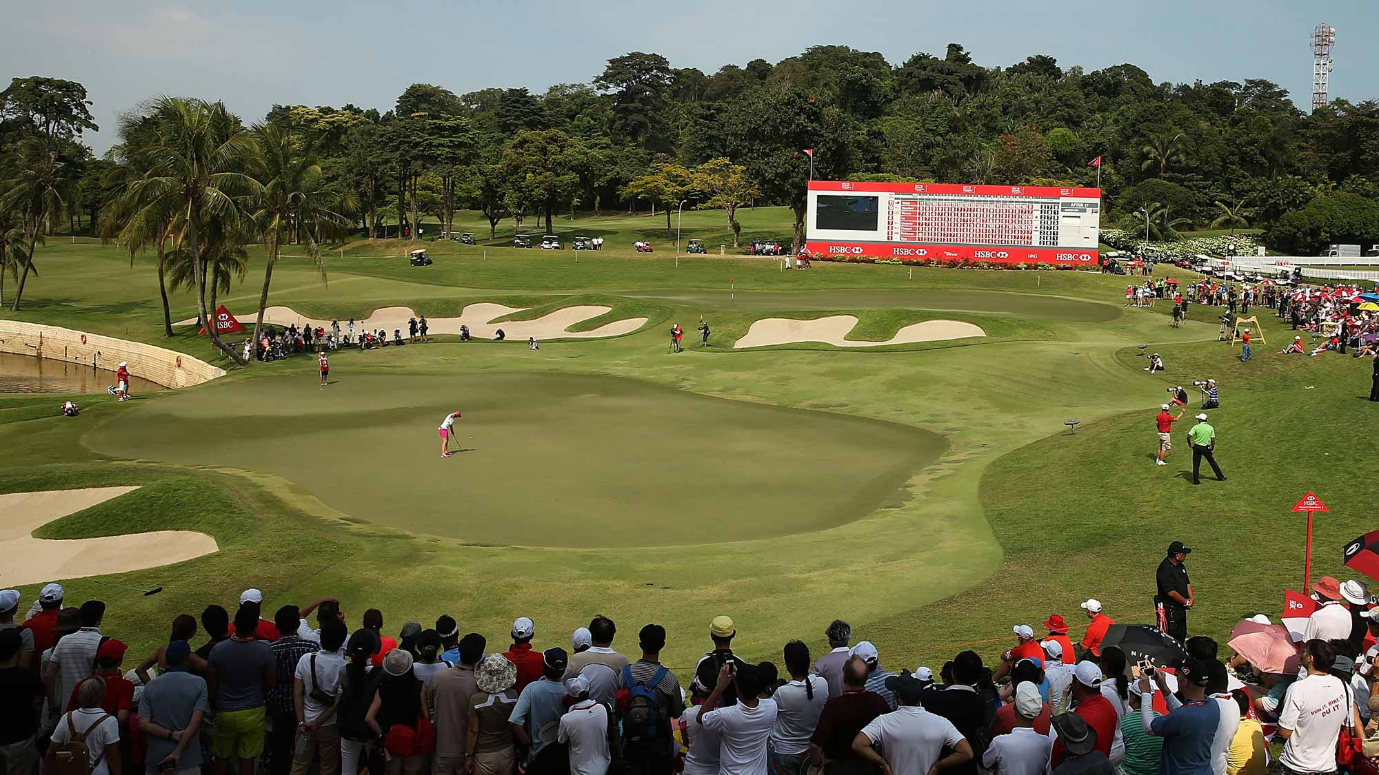 The Serapong Course at the Sentosa Golf Club in Singapore