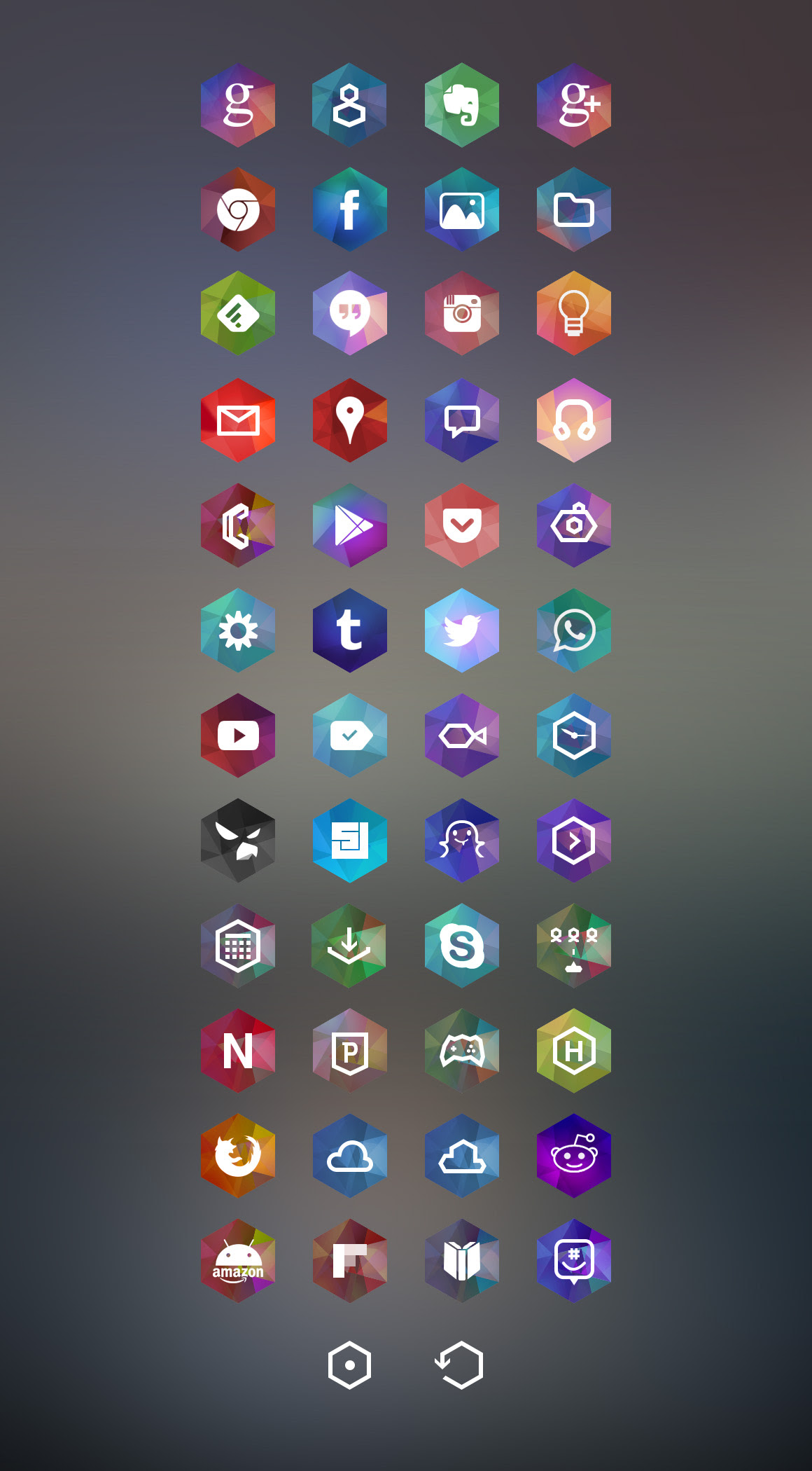 [ICONS] Hexagon Icons  Android Development and Hacking