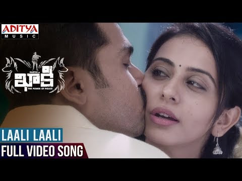 Laali Laali Video Song | Khakee Video Songs | Karthi, Rakul Preet