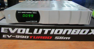 EVOLUTIONBOX EV-990 TURBO SLIM PRATA