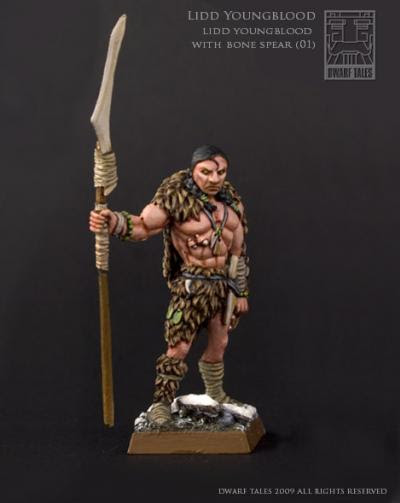 Lidd Youngblood with bone spear-01