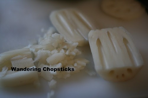 Nem Nuong Cu Sen (Vietnamese Grilled Lotus Root Pork Patties) 4