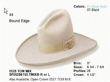 cappello di Tom Mix