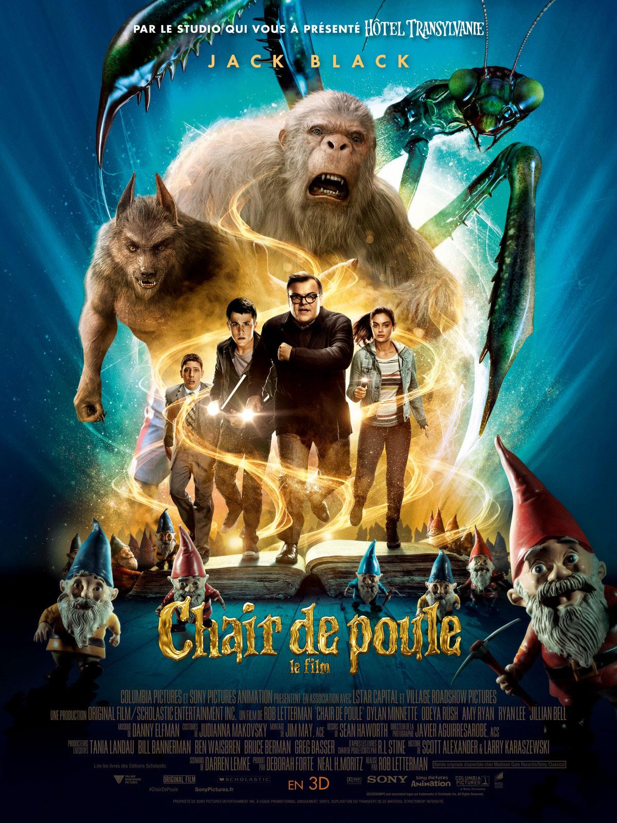 Chair de Poule - Le film : Affiche