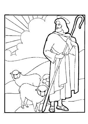 Malvorlage Hirte Und Schafe | Batavusprorace
