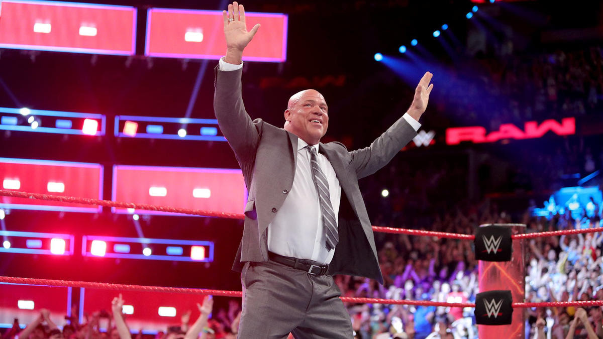 Kurt Angle, who is also a member of the WWE Hall of Fame Class of 2017, is Mr. McMahon's choice to be the new Raw General Manager!