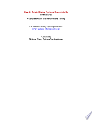 how to trade binary options successfully pdf free