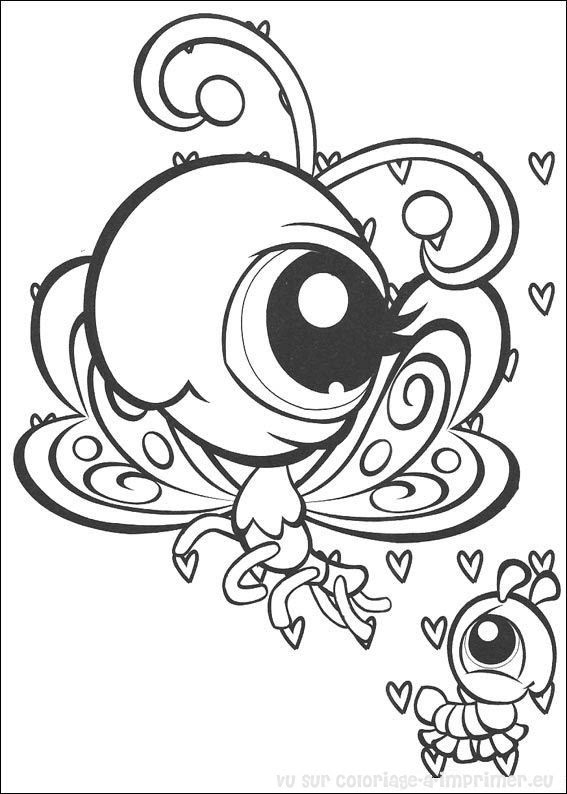 Coloriage à Imprimer Coloriage Littlest Pet Shop 017