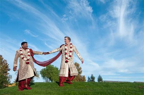 One of Nation's First Traditional Indian LGBTQ Interracial