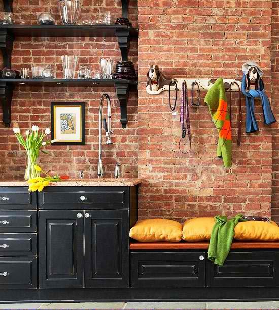 brick wall kitchen design 9 ideas