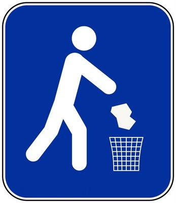 Resultado de imagen para no arrojar basura en la calle