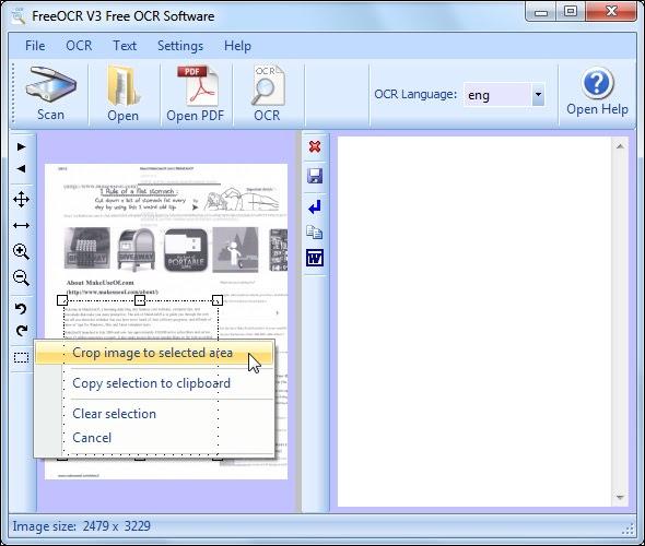 Merubah File JPG ke WORD